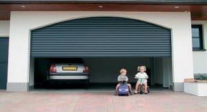 Garage Door Safety - children playing