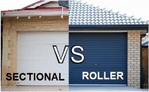 Sectional Vs Roller Door