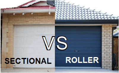 Roller Doors VS Sectional Doors – Which is best? (Pro's and Con's)