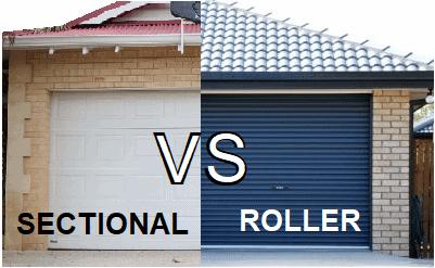 Roller Doors VS Sectional Doors – Which is best? (Pro's and Con's)