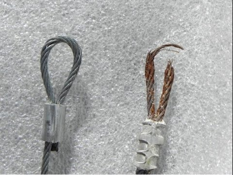 Rusty Cable Vs Fresh Cable
