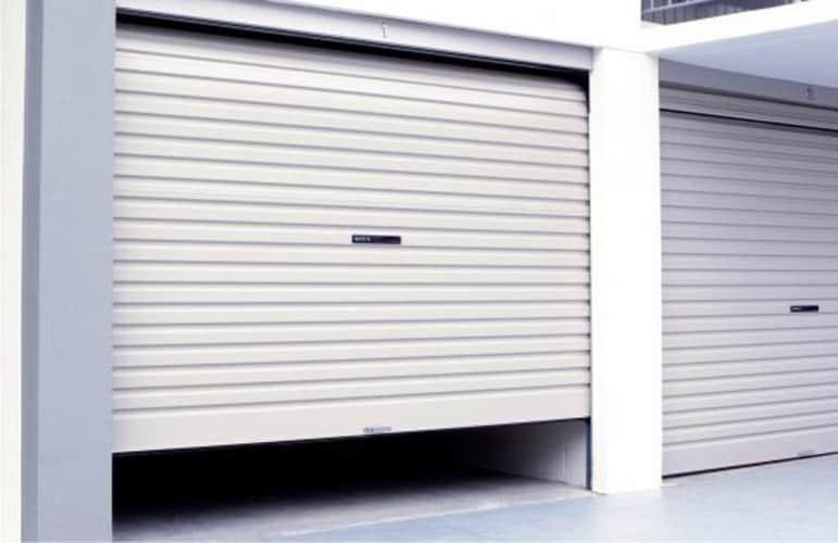 Commercial White Single Roller Door