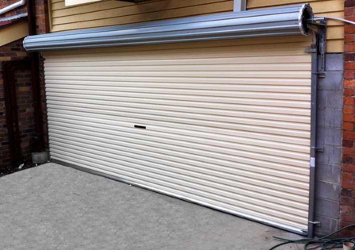 Eden Roc Commercial Garage Door